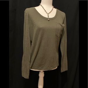 Abercrombie & Fitch olive shirt